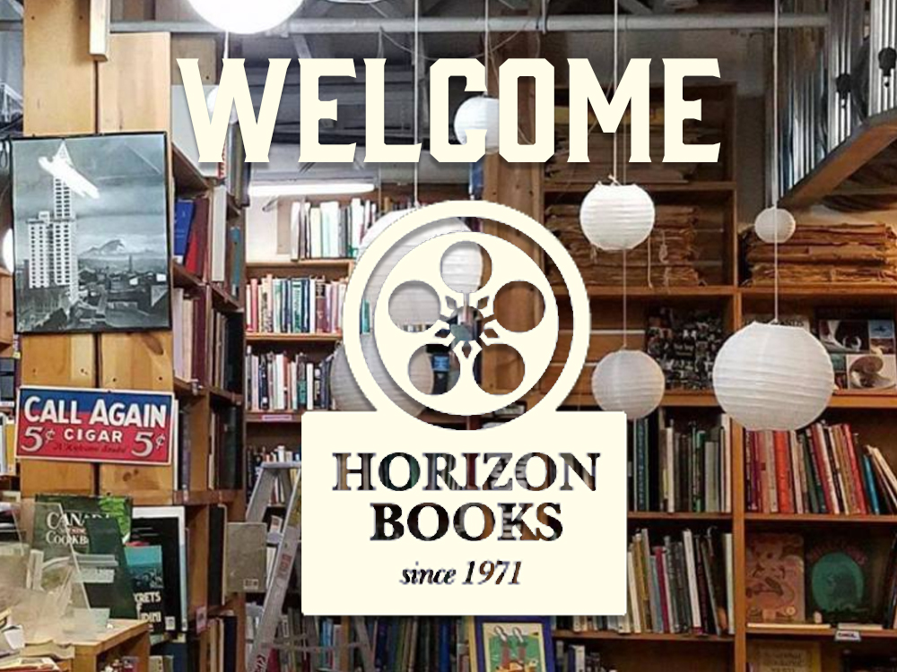 Welcome to Horizon Books - Seattle Logo