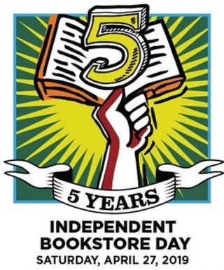 Independent Bookstore Day is coming up, April 27th!