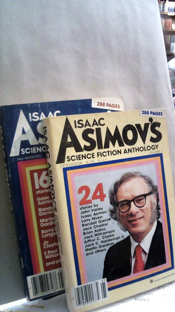 Isaac Asimov's Science Fiction Anthology 1979 Edition Vol. 1 Sping-Summer and Vol. 2 Fall-Winter. Two Volume set. George H. SCITHERS.