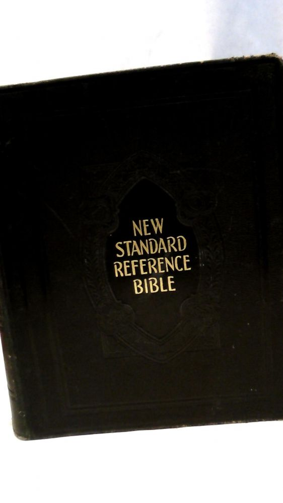 THE NEW STANDARD ALPHABETICAL INDEXED BIBLE (Authorized or King James Version): School and Library Reference Edition, Containing the Old and New Testaments. No author.