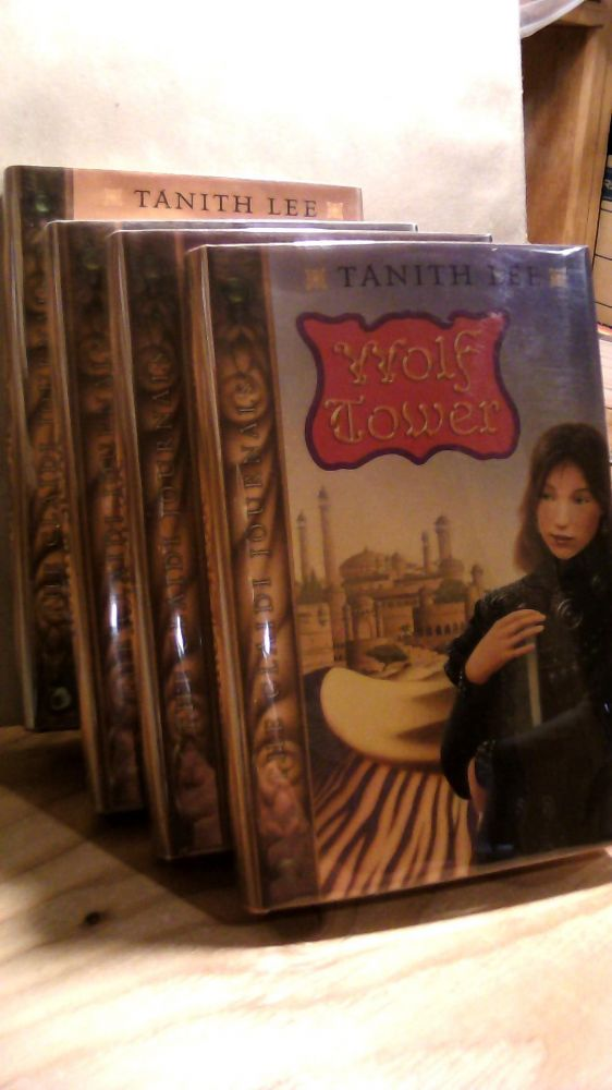 Wolf Tower, Wolf Star, Wolf Queen, Wolf Wing. Four volume set. Tanith LEE.