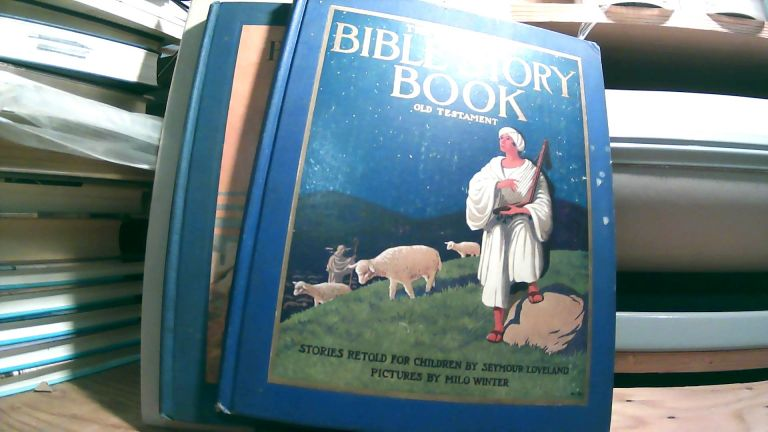 The Illustrated Bible Story Book: Old Testament and The Illustrated Bible Story Book: New Testament. Two book set. Seymour LOVELAND.