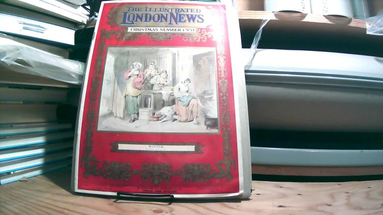 The Illustrated London News Christmas Number 1951. No. 3368A Vol. 129 - November 15, 1951.