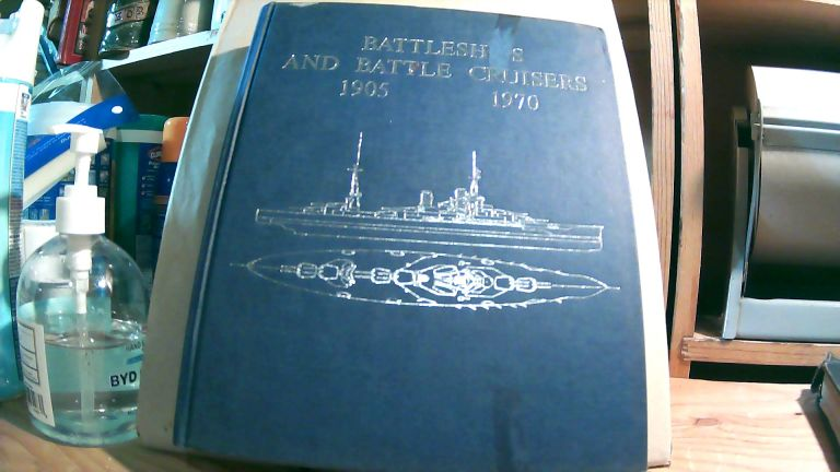 Battleships and Battle Cruisers, 1905 - 1970. With 922 Side Elevations, Deck Plans, Cross Sections and Detail Sketches Including an Introduction: Historical Development of the Capital Ship. Siegfried BREYER, Alfred KURTI.