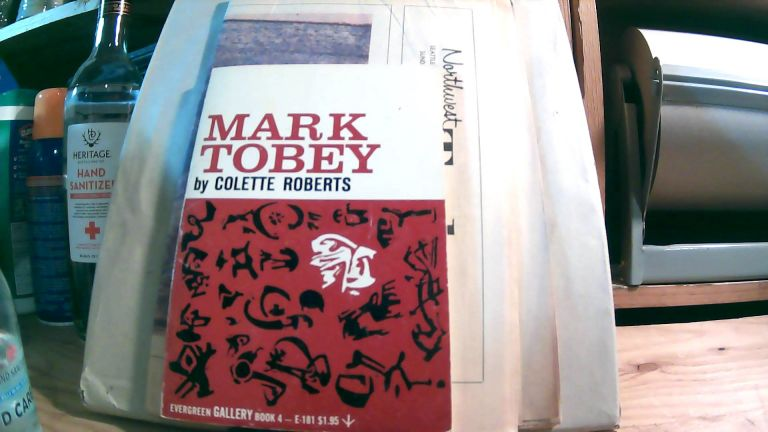 Mark Tobey: Twelve Color Plates and Five Black and White Illustrations. With tipped in Northwest Today newspaper featuring Mark Tobey. Colette ROBERTS.