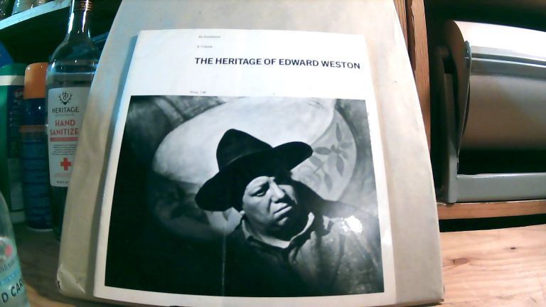 The Heritage of Edward Weston: A Tribute, An Exhibition. Gerald H. ROBINSON, compiler.