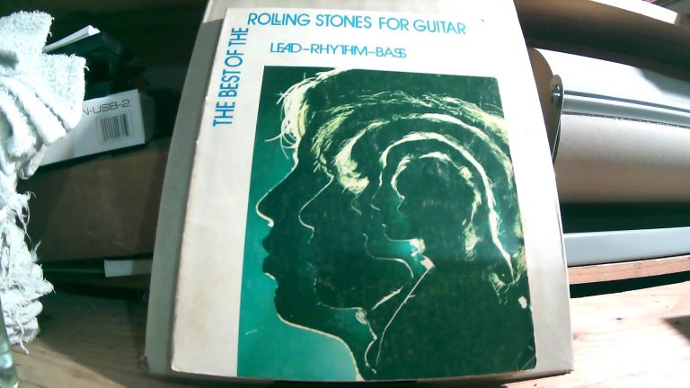 The Best Of The Rolling Stones For Guitar: Lead - Rhythm - Bass. John CLAUSI, arrangement.