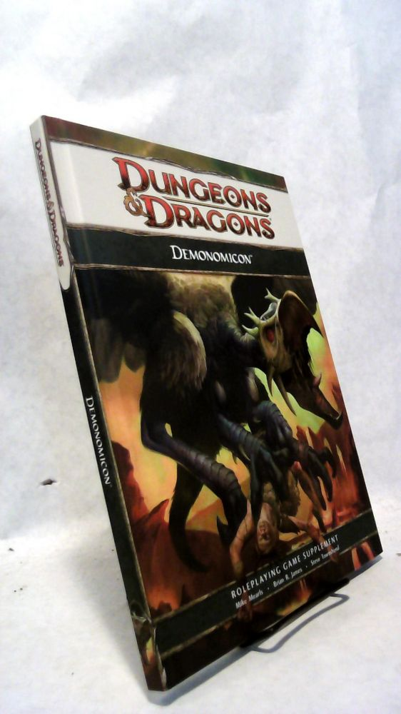 Demonomicon, a Dungeons & Dragons 4th Edition Supplement. Mike MEARLS, Brian R. James, Steve Townshend.