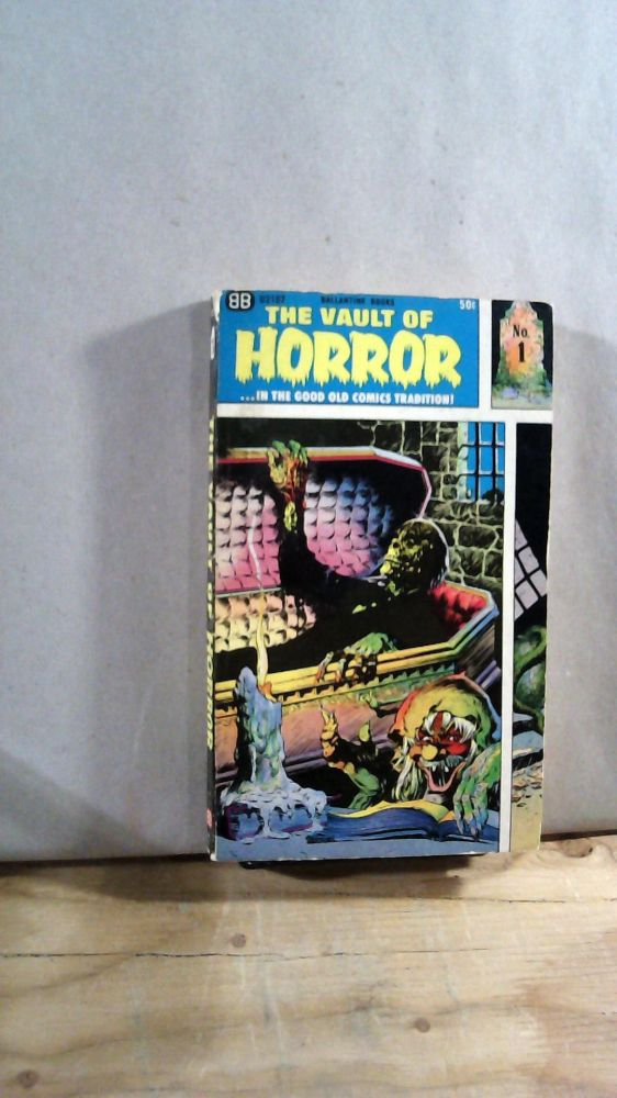 The Vault of Horror Number 1. given.