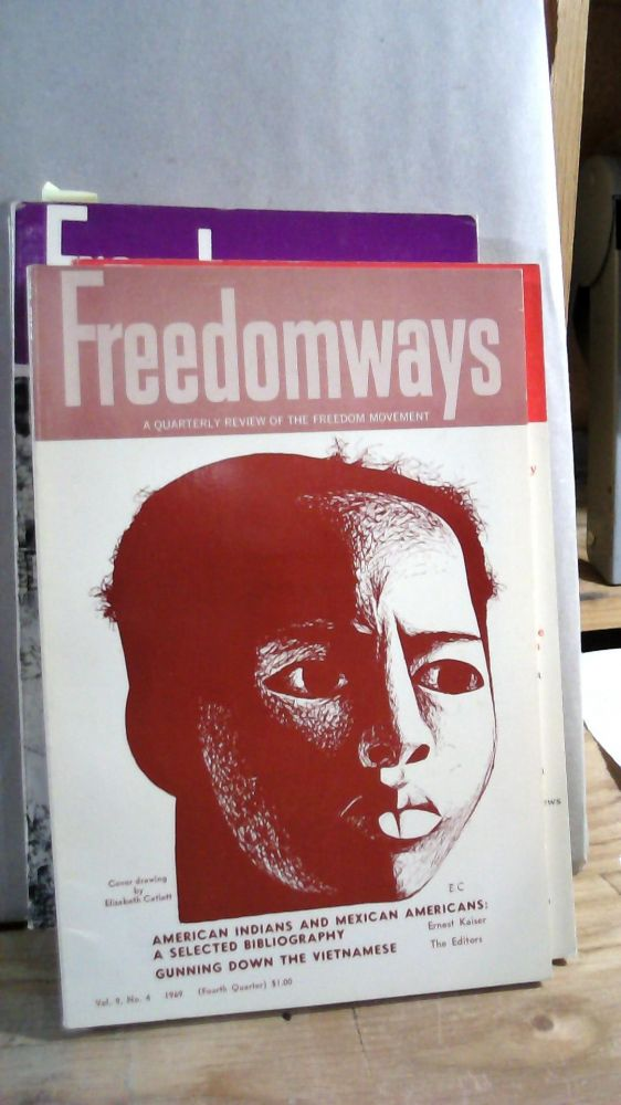 Freedomways A Quarterly Review of the Freedom Movement Vol. 9 Nos. 1-4 1969. Set of 4 magazines.
