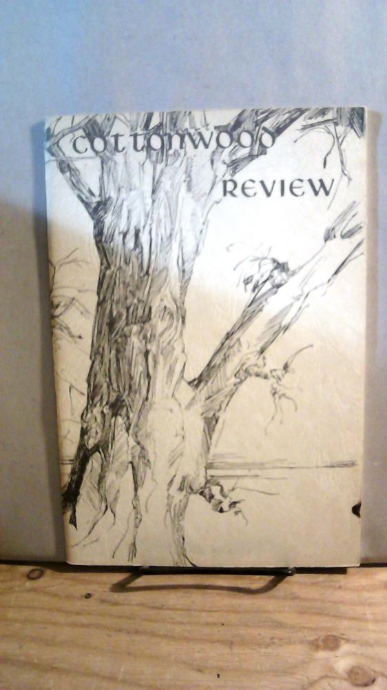 Cottonwood Review Vol. 1 No. 1 Spring 1965. William D. KNIEF.