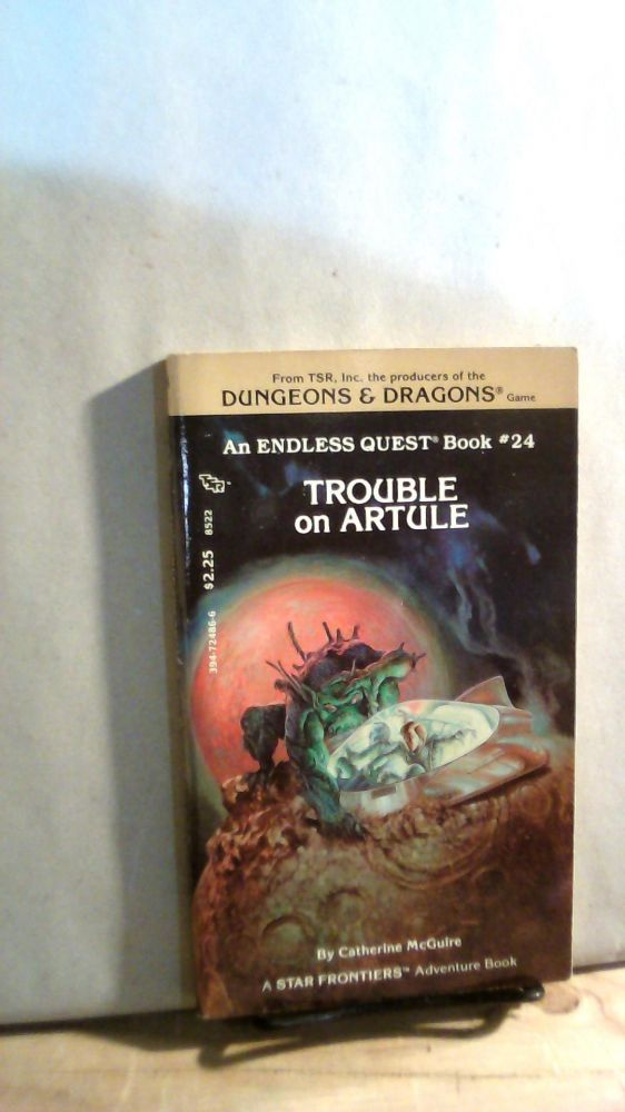Trouble on Artule. Endless Quest Book #24. Catherine MCGUIRE.