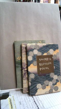Sword and Blossom Poems From The Japanese Vol. 1-3. Shotaro KIMURA, Charlotte M. A. PEAKE