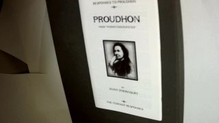 RESPONSES TO PROUDHON: Proudhon from 'Woman Emancipated'; The Feminist Responses. Jenny D'HERICOURT