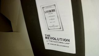 THE REVOLUTION &'THE ELECTORAL LAW'. Numere 2 Mai 1830. Anselme. With the biographical sketch of...