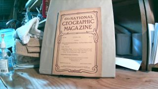 National Geographic Magazine Vol. XIX No. 10 October 1908. Gilbert H. GROSVENOR