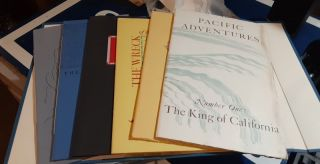 Pacific Adventures Vols. 1-6. Six volume set. Book Club of California, publisher
