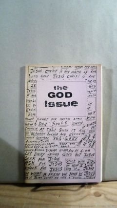 The God Issue. Bertolino BAXTER, Clark, Cavasos