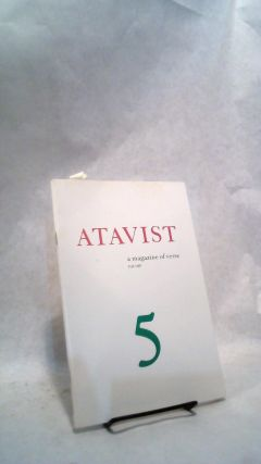 ATAVIST: A Magazine of Verse. No. 5, Fall 1987. Robert DORSETT, Loretta Ko