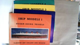 Ship Models : Volumes 1 - 4 from the Glasgow Museums' Ship Model Collection. A. S. E. Browning