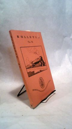 BULLETIN NO. 81: October 1950. THE RAILWAY AND LOCOMOTIVE HISTORICAL SOCIETY