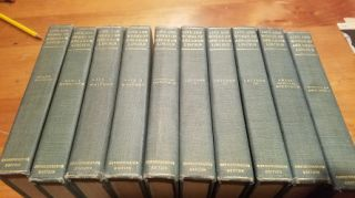 LIFE AND WORKS OF ABRAHAM LINCOLN COMMEMORATIVE EDITION: 10 Volume Set.