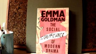 THE SOCIAL SIGNIFICANCE OF MODERN DRAMA. Emma GOLDMAN