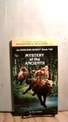 Mystery of the Ancients. Endless Quest Book #28. Morris SIMON