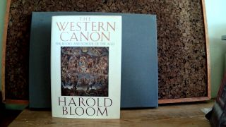 THE WESTERN CANON: The Books and Schools of the Ages. Harold BLOOM