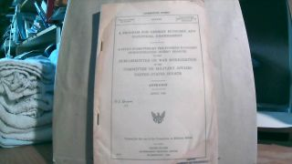 Appendix for A Program for German Economic and Industrial Disarmament: A Study Submitted by the...