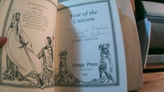 Year of the Unicorn. The Witch World Novels of Andre Norton Volume 6