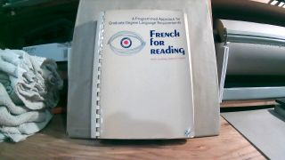 French For Reading: A Programmed Approach For Graduate Degree Language Requirements. Karl C....