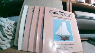 Seaways' Ships in Scale Journal of Maritime History and Research Vol. VI Nos. 1-4, 6 1995. Five...