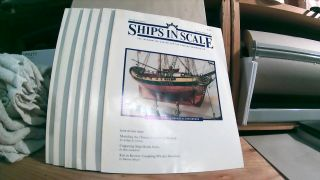 Seaways' Ships in Scale Journal of Maritime History and Research Vol. VII Nos. 1- 6 1996. Jim RAINES