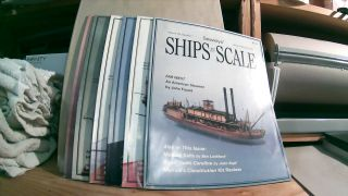 Seaways' Ships in Scale Journal of Maritime History and Research Vol. VIII Nos. 1- 6 1997. Jim...