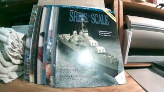 Seaways' Ships in Scale Journal of Maritime History and Research Vol. IX Nos. 1- 6 1998, and Vol....