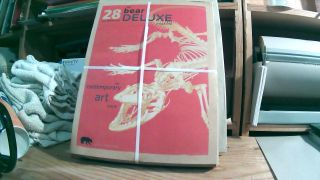 "The Bear Deluxe Magazine #28 Fall/Winter 2008-2009. ""The Contemporary Art Issue"" Tom WEBB"