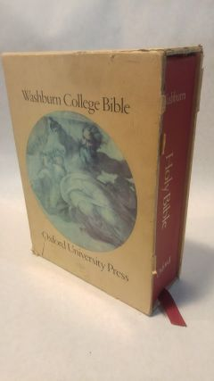 THE WASHBURN COLLEGE BIBLE: HOLY BIBLE, King James Text, Modern