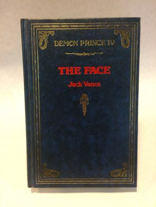 THE FACE.; Collectible, SciFi. Jack VANCE
