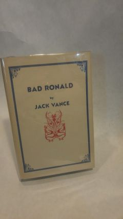 BAD RONALD.; Collectible, SciFi. Jack VANCE
