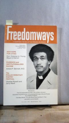 FREEDOMWAYS: A Quarterly Review of the Freedom Movement. Vol. 14; Number 2. (Second Quarter)....