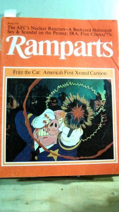 RAMPARTS Vol. 10 No. 9 March 1972. David HOROWITZ