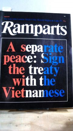 RAMPARTS. Vol. 9 No. 9 April 1971. David HOROWITZ