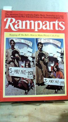 RAMPARTS. Vol. 9, No. 2 August 1970. David HOROWITZ
