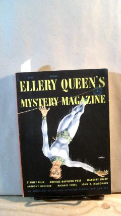 ELLERY QUEEN'S MYSTERY MAGAZINE. Vol. 21, No. 115, June 1953. Ellery QUEEN