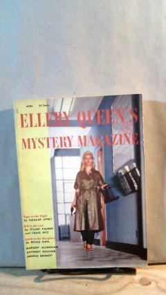 ELLERY QUEEN'S MYSTERY MAGAZINE. Vol. 25, No. 4, Whole No. 137, April 1955. Ellery QUEEN