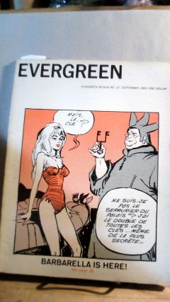 Evergreen Review: Vol. 9, No. 37, September 1965. Barney Grosset