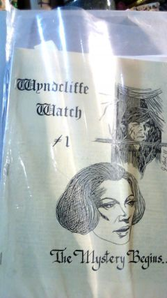 WYNDCLIFFE WATCH (Dark Shadows Society): Numbers 1-11. May SUTHERLAND