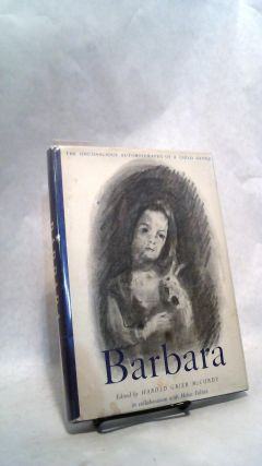 Barbara: The Unconscious Autobiography of a Child Genius. Harold Grier McCurdy