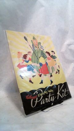 Kellogg's Singing Lady Party Kit: Invitations, Games, Place Cards, Favors, Masks, Verse, Recipes,...